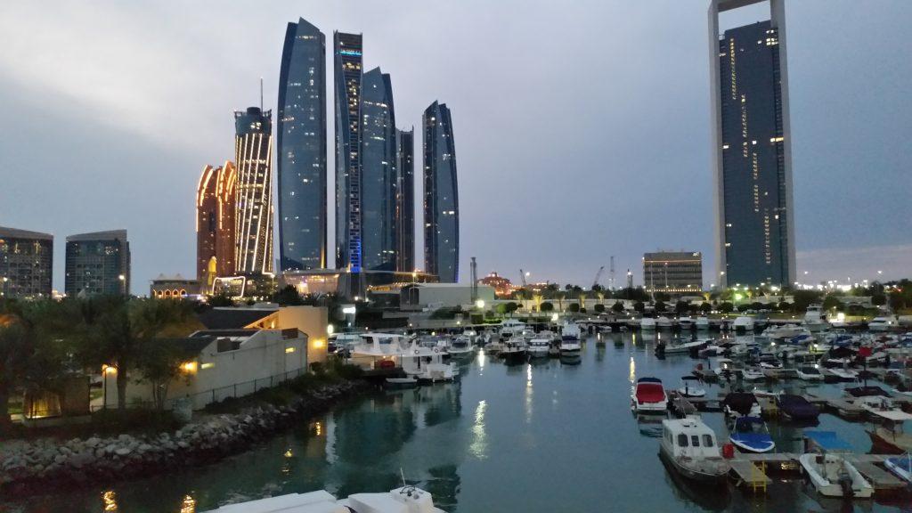ADNOC Tower, Abu Dhabi, UAE.